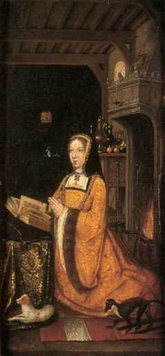 Margaret da Áustria. Artista desconhecido, entre 1500-1510.