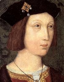 Artur Tudor, por volta de 1500. Artista Desconhecido.