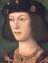 Henrique Tudor, em 1509, por artista desconhecido.
