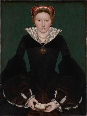 Cecily Bodenham, a última Abadessa de Wilton. Artista desconhecido, 1550.