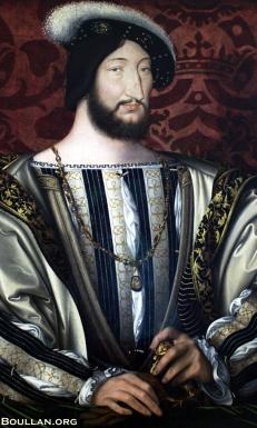 Francisco I da França, por volta de 1530, por Jean Clouet.