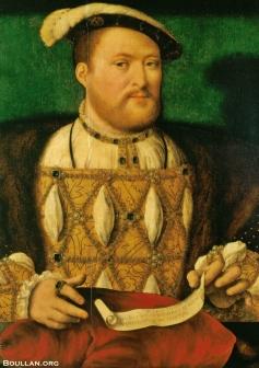 Henrique VIII, por volta de 1530, por Joos van Cleve.