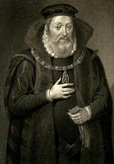 James Hamilton, Conde de Arran e Regente da Escócia.