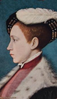 Eduardo VI da Inglaterra, possivelmente por William Scrots, cerca de 1543.