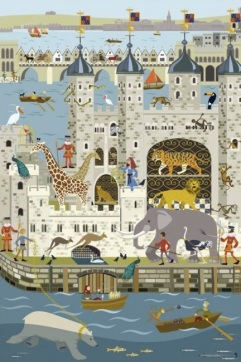 "Erica Sturla, ""The Menagerie in the Tower""."