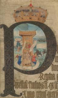Maria Tudor no Coram Rege de 1553