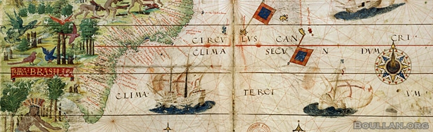 Mapa do Brasil do século XVI