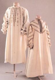 chemise do século xvi