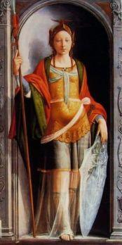 Atena, por Fra Bartolomeo.