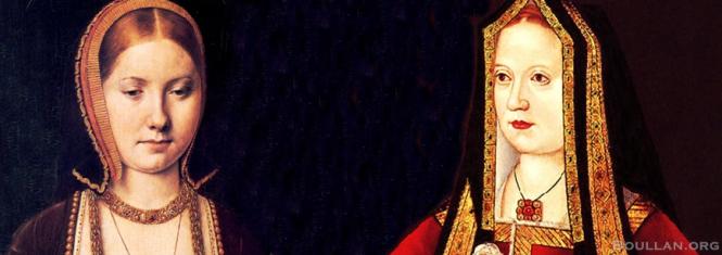 Catarina de Aragão e Elizabeth de York