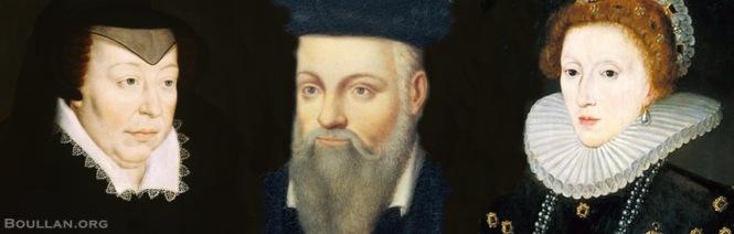 Catarina de Médici, Nostradamus e Elizabeth
