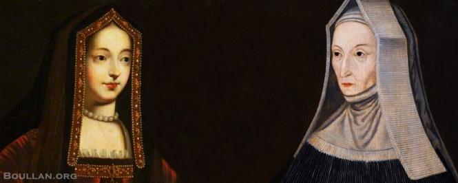 Elizabeth de York e Margaret Beaufort