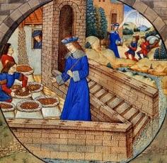 José no Egito: note que suas roupas são iguais as do período medieval Europeu.