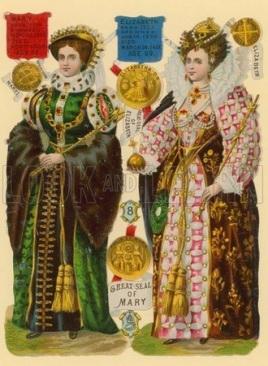 maria e elizabeth rainhas