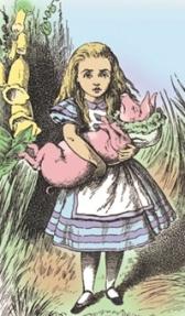 Alice e o bebe porco