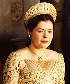 """Madge Shelton foi interpretada por Laura Jane Laughlin na série """"The Tudors""""."""