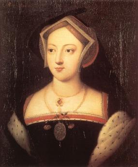 Em seu retrato, Maria Bolena usa arminho.