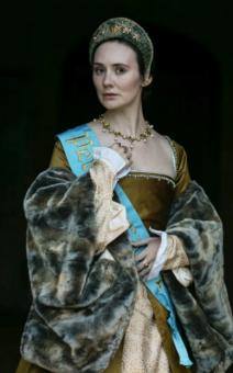 Claire Cooper interpreta Ana Bolena.
