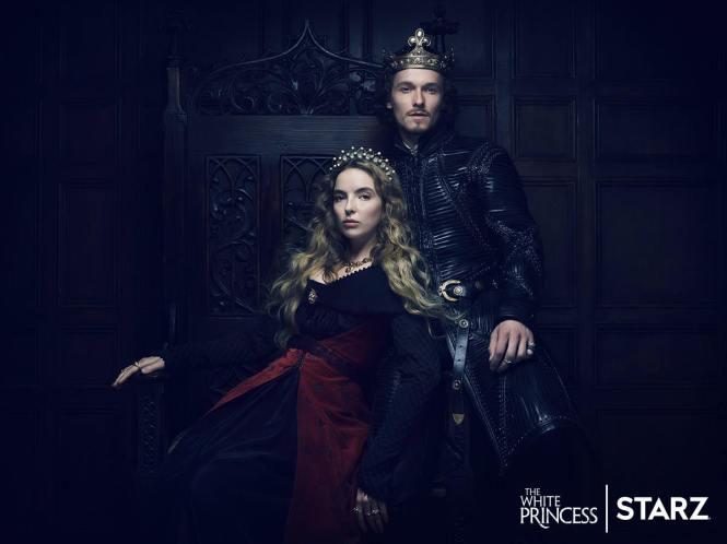 Elizabeth de York (Jodie Comer) e Henrique VII