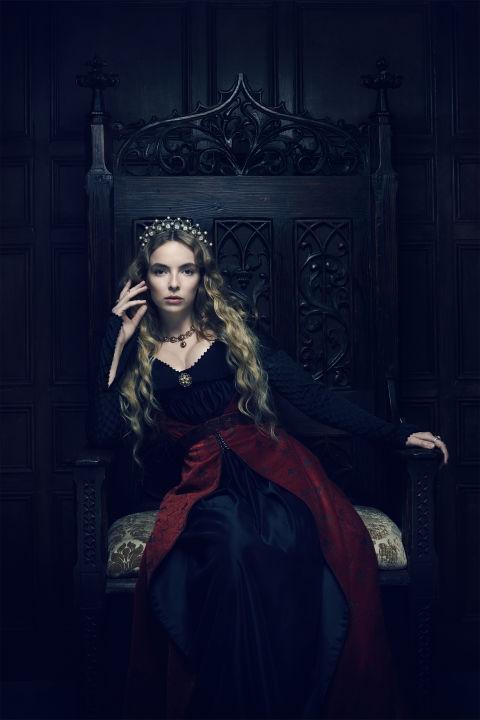 Jodia Comer interpreta Elizabeth de York.