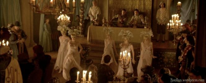 O Encontro retratado na série The Tudors